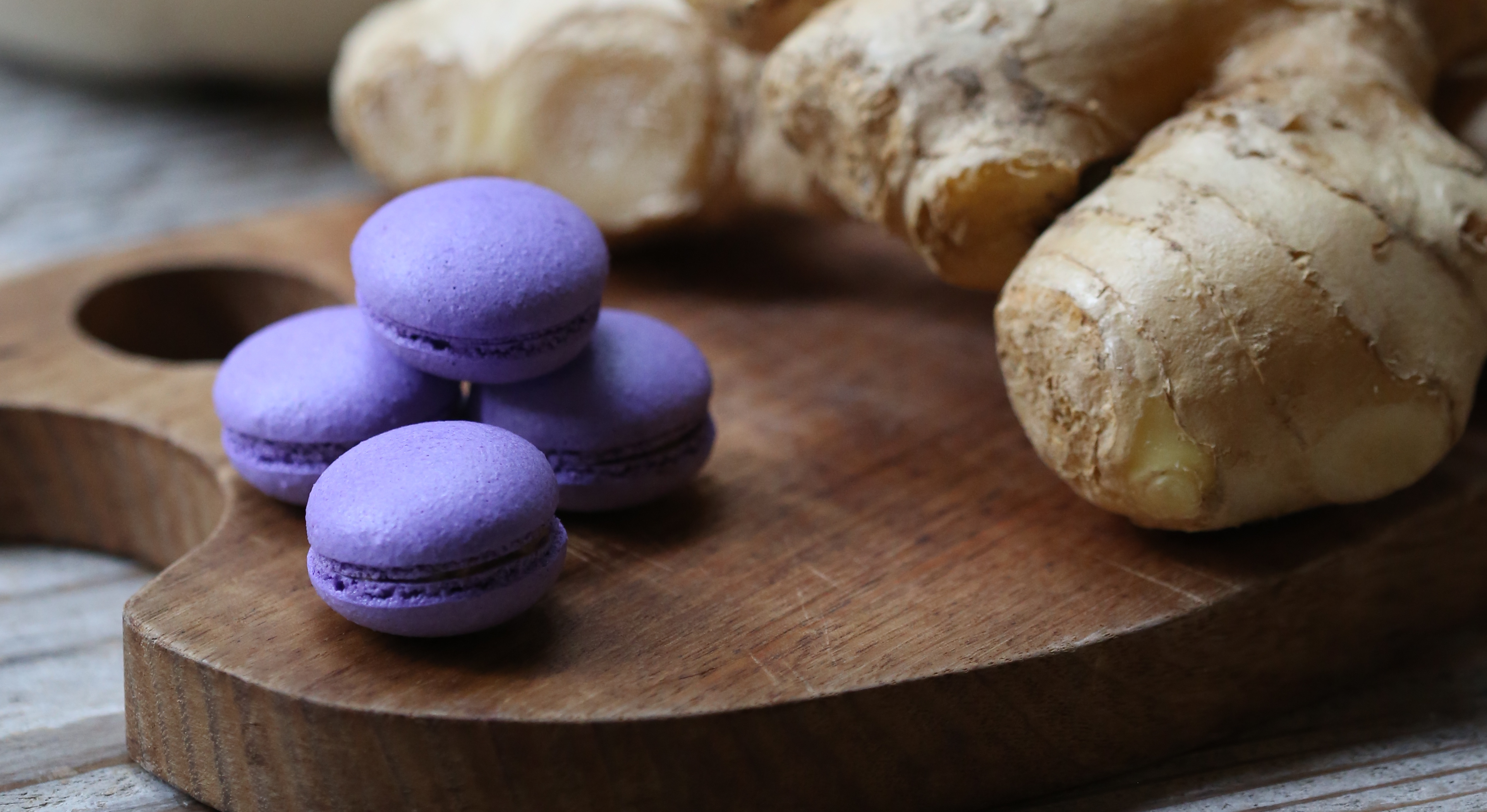 Chinese Ginger Vinegar Macarons