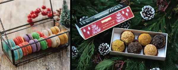 Jouer Christmas Macarons and Cake Truffles