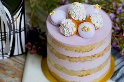 Jouer Lavender Rosemary Layered Cake
